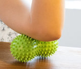 Las bolas de masaje puntiagudo Hard&Soft estrés combinado Reflexología puercoespín Juego de Pelota sensorial