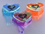 Soins de la peau en PVC Laser fait sur mesure de la forme de sac d'emballage plastique Sacs de cosmétique