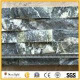 Quartzito verde natural/Cultura de quartzo para parede de azulejos fachada de pedra