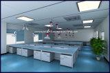 Лаборатория культуры ткани стенде с помощью реактива определения наличия полки