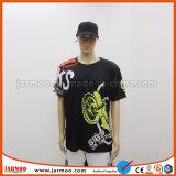 熱い販売の耐久のロゴは豪華なデザインTシャツを印刷した