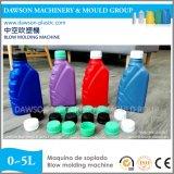 Detergente de extrusión de plástico de botellas de champú de moldeo por soplado y máquina de moldeo