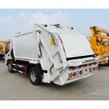 JAC 5 tonnellate di controllo dell'immondizia di camion di capovolgimento posteriore idraulico del costipatore con l'ente cubico del serbatoio dei 5 tester