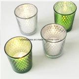 Modernes Printde Glaskerze-Glas für Valentine′ S-Tag