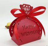 De gelukkige Dozen van de Gift van de Dozen van het Suikergoed van het Huwelijk van het Huwelijk
