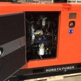 64 ква три этапа Perkins Silent дизельного двигателя с генераторной установкой звуконепроницаемых навес