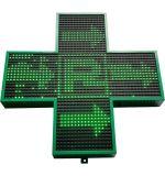 Voyant LED de visualisation transversal de la pharmacie Croix signe d'affichage Affichage de la croix pour l'église de l'hôpital de pharmacie