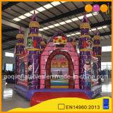 Nouveau design Royal château gonflable Fun City pour01817 personnalisé (AQ)