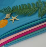 Commerce de gros 82 % Polyester recyclé à 18% Lycra filles et des enfants pour les culottes Leotards tissu