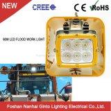 60W 5.7Inch carré LED d'inondation pour phare de travail bouteur Caterpillar de camion minier (GT16112)