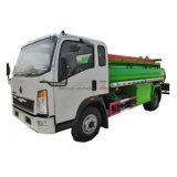 HOWO 3-5T Rhd camion du réservoir de carburant du réservoir diesel camion de l'huile de camion citerne du camion pour l'exportation