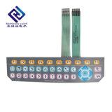 Custom flexible numérique/imprimé de la soie argent conducteur Circuit d'encre interrupteur à membrane