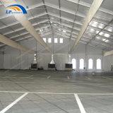 Grand Entrepôt de stockage de l'aluminium personnalisée tente d'hélicoptères de la structure d'ébarbage