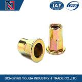 Noix rivetées galvanisées de couleur chaude de vente en acier inoxydable