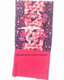 Sciarpa multifunzionale di marchio dei prodotti della fabbrica del panno morbido polare su ordinazione della stampa