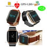 Bejaard GPS Volgend Horloge met het Tarief van het Hart & geo-Omheining Y16