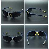UV400 de Zonnebril van de Manier van de Veiligheid van de Lens van de Rook van de bescherming (SG125)