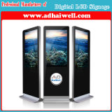 LCD表示に触れているデジタル表記LCDのパネル・ディスプレイLCDスクリーンの広告プレーヤーのアンドロイド