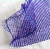 Sacchetto della maglia di Raschel del PE per l'arancio della patata della cipolla dell'imballaggio