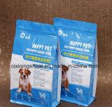 2kgs Paquet d'impression colorée Joint Quad sac pour les aliments pour animaux