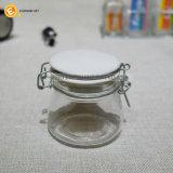 De transparante Ontsproten Kruik/de Fles van het Kruid van het Glas