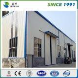 Atelier préfabriqué d'entrepôt de structure métallique en Afrique