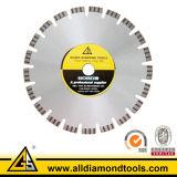 Lâmina de serra circular de diamante Segmento Turbo para corte de concreto (HLWCC-T)