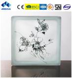 Jinghua artístico de alta calidad P-037 de la pintura de ladrillo y bloque de vidrio