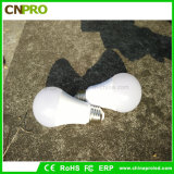 Bset Pric E27 5W Bombilla LED Luz fabricado en China