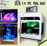 Более дешевый гравировальный станок фотоего кристаллический лазера 3D