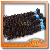 100% não processado Grey Brazilian Human Hair Weaving
