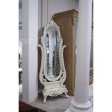 De Europese Decoratieve Spiegel van de Spiegel van het Frame van de Stijl Witte Kosmetische