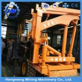 Machine de enfoncement utilisée par rambarde de bélier de baisse de route de marteau de vis de mini poste au sol hydraulique de feuille