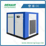 15 CV el ahorro de energía del compresor de aire de tornillo impulsado por correa máquina