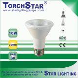 Punto de la lámpara LED 4100K 8W PAR20 con E27 Base