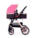 Passeggiatore infantile pieghevole del bambino appena nato di lusso del passeggiatore per i sistemi di corsa