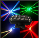 LEDのくもの移動ヘッドビーム段階装置