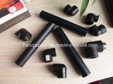 Zwarte Kleur 75mm van de Watervoorziening HDPE Pijp en Montage