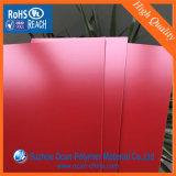 Strato impresso rosso lucido del PVC per stazionario