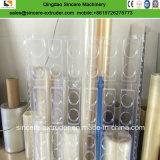 Linha da extrusão da folha do couro artificial do PVC/máquina macias da fatura