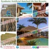 Tropische de Villa van de luxe/Synthetische de Stijl van het Eiland met stro bedekt de Tegels van het Dak
