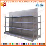 Shelving de aço da prateleira do supermercado do armazenamento do mantimento do armazém da qualidade superior (ZHS19)
