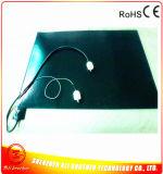 110V de Geëtsten Verwarmer van het Silicone van de 1200W 600*800*1.5mm Rechthoek Rubber