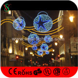 Fancy Starの新しいLED Christmas Motif Cross Street Light