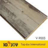 Superficie de madera pisos de PVC Plank haga clic en