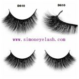 il visone lussuoso 3D frusta i capelli naturali Eyelashe falso di strati di Multy
