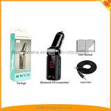 Transmetteur FM Bluetooth avec voiture lecteur MP3, appels mains libres et deux ports de chargement USB