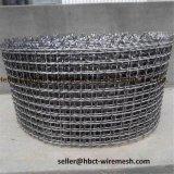 Acido alcalino, rete metallica unita resistente alla corrosione dell'acciaio inossidabile