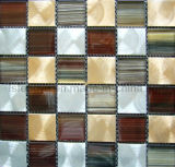 Crystal Mosaic смешанных алюминиевых мозаика, металлической мозаики, стеклянной мозаики плитки