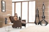 余暇のイタリアの革ソファーの家具(791)